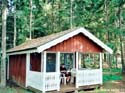 Log cabin Jälluntofta, Sweden