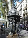 Art along the Ramblas, Barcelona