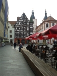 Square in Rothenburg ob der Tauer, Germany