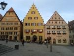Market square Rothenburg ob der Tauer, Germany