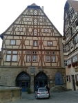 Art exhibition Rothenburg ob der Tauer, Germany