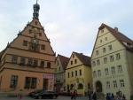 Center of Rothenburg ob der Tauer, Germany