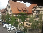 View from our hotel, Rothenburg ob der Tauer