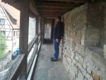 City walls Rothenburg ob der Tauer, Germany