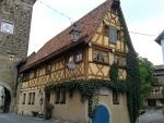 Half-timbered house Rothenburg ob der Tauer, Germany