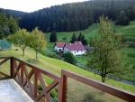 View from our cottage, Schönbrunn, Germany
