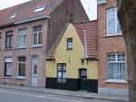 Funny little house, Bruges, Belgium