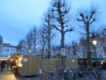 Christmas market in Bruges, Belgium