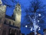 Christmas atmosphere in Bruges, Belgium