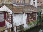 House on the Mariastraat, Bruges, Belgium