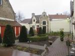 Court on the Noordstraat, Bruges, Belgium