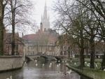 The Minnewater, Bruges, Belgium