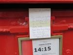 Letterbox note, Belgium