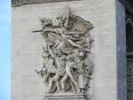 Detail Arc de Triomphe, Paris