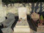 Tomb of Sartre and De Beauvoir, Montpernasse, Paris