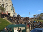 Crowds at Montmartre