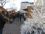 Christmas market at Montmartre