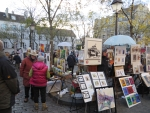 Painter's market, Montmartre, Paris