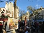Painter's market, Montmartre, Paris