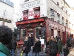 Famous restaurant Le Consulat, Paris