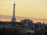The Eiffel Tower in the morning, Paris