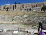 Dionysos theater in Athens, Greece