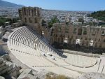 The Odeion of Herodes Atticus, Greece