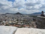 View of Athens from the Acropolis, Greece
