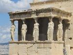 The Erechtheum on the Acropolis, Greece