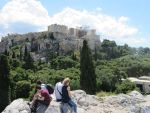 View from the Areopagus Hill, Greece