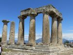 The Apollo-temple in ancient Corinth, Greece