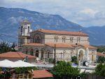 Greek orthodox church at Corinth, Greece