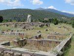 Ruins of the Asklepeion in Epidaurus, Greece