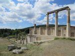 The Enkoimeterion in Epidaurus, Greece