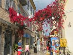 Colorful street in Nafplio