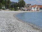 Beach on the bay of Argolikos, Greece