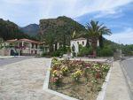 Square in Mystras, Greece