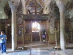 Inside the Metropolis Basilica, Mystras, Greece