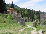 Brontochion monastery, Mystras, Greece
