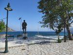 Statue at Kotronas, Greece