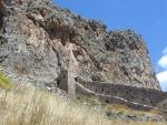 Fortifications, Monemvasia, Greece