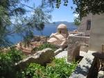 View from Monemvasia, Greece