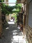 Street in Monemvasia, Greece
