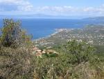 The coast at Kalamata, Greece