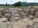 Roman bathhouse, Messene, Greece