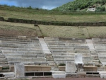 Amphitheater in Messene, Greece