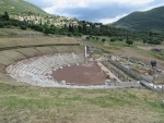 Amphitheater in Messene, Greece