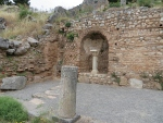 The entrance to Delphi