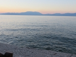 Gulf of Corinth at Xylokastro, Greece