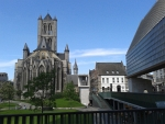 Sint-Niklaas church, Ghent, Belgium